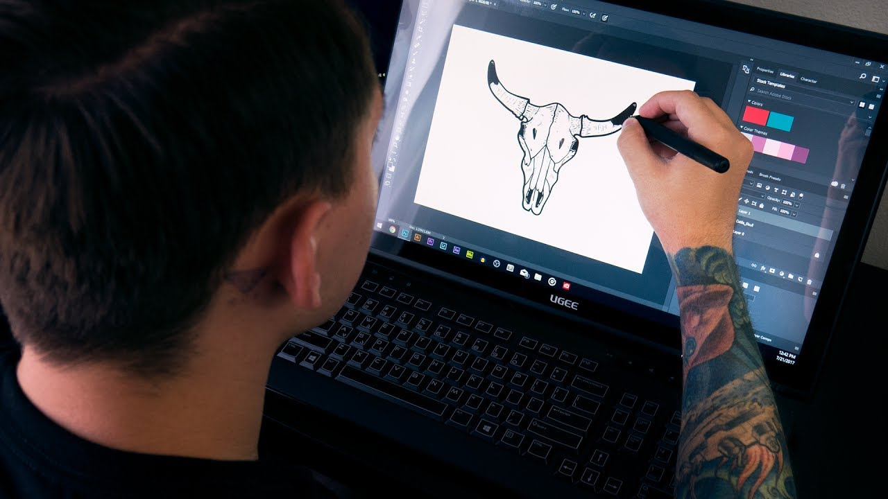 What is the best drawing tablet with screen